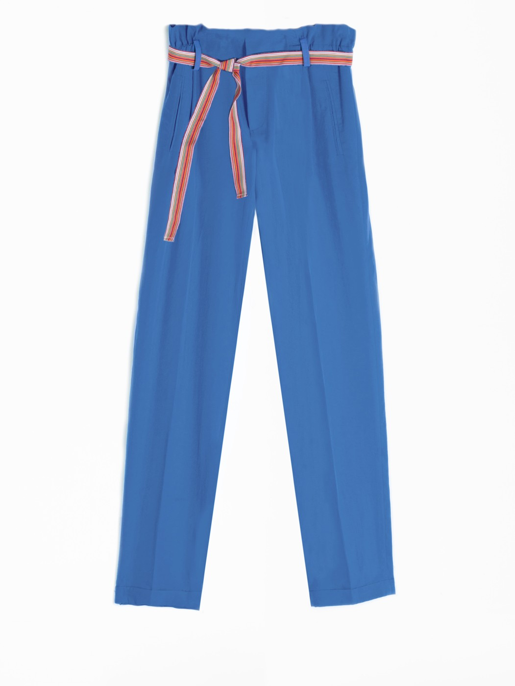 MILY TROUSERS BLUE LYOCELL