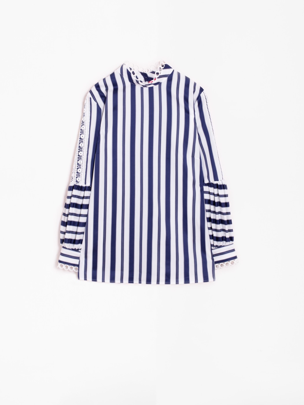 LOLA SHIRT NAVY STRIPES