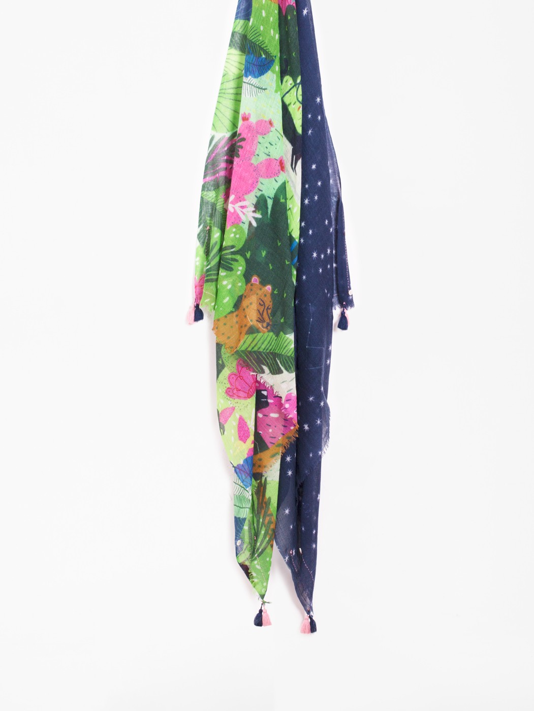 NIGHT TALE FOULARD