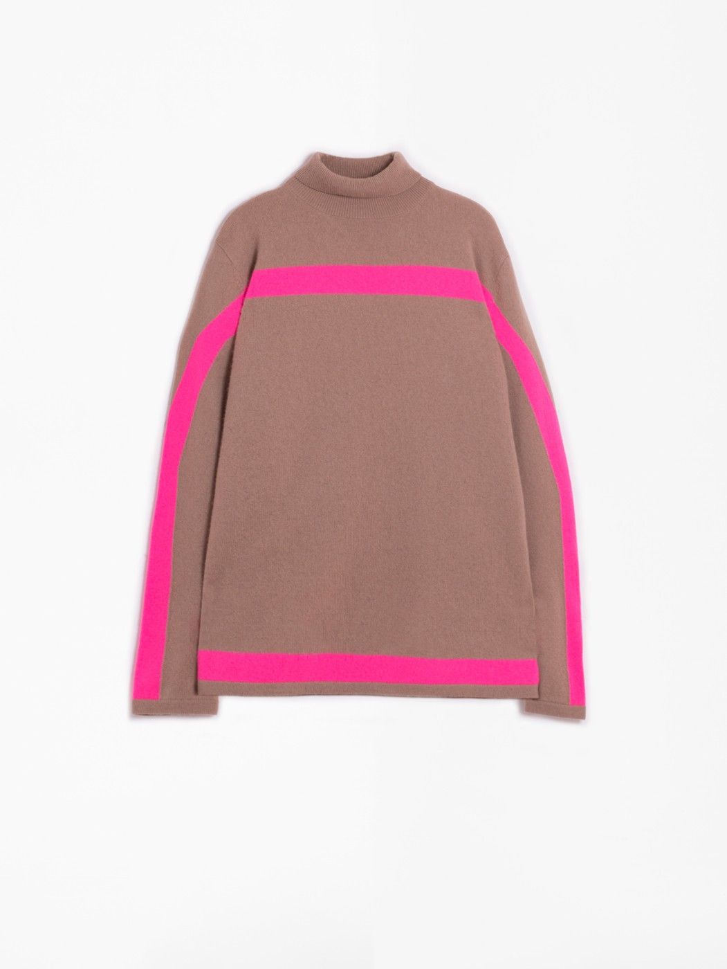 BETSY TURTLE NECK CAMEL KN