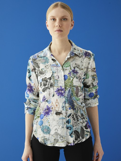 GABRIELLA SHIRT NORTH POLAR