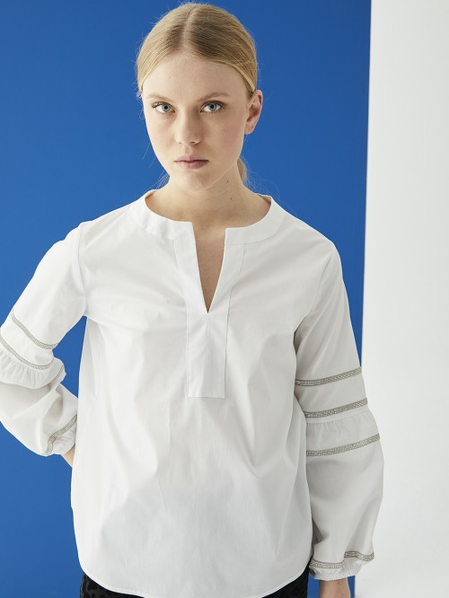 TILDA SHIRT POPELIN WHITE