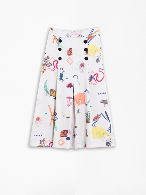 CAROL SKIRT QUIRKY POLAR