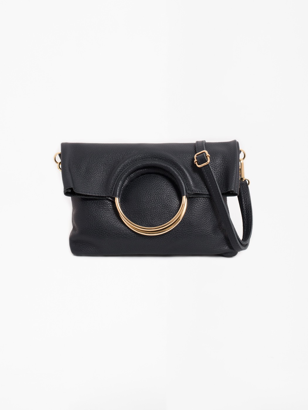 BECK BLACK LEATHER BAG