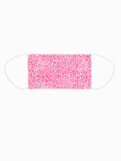 REUSABLE MASK FUCSIA LEOPARD