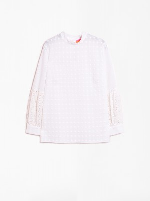 LOLA SHIRT WHITE EMB