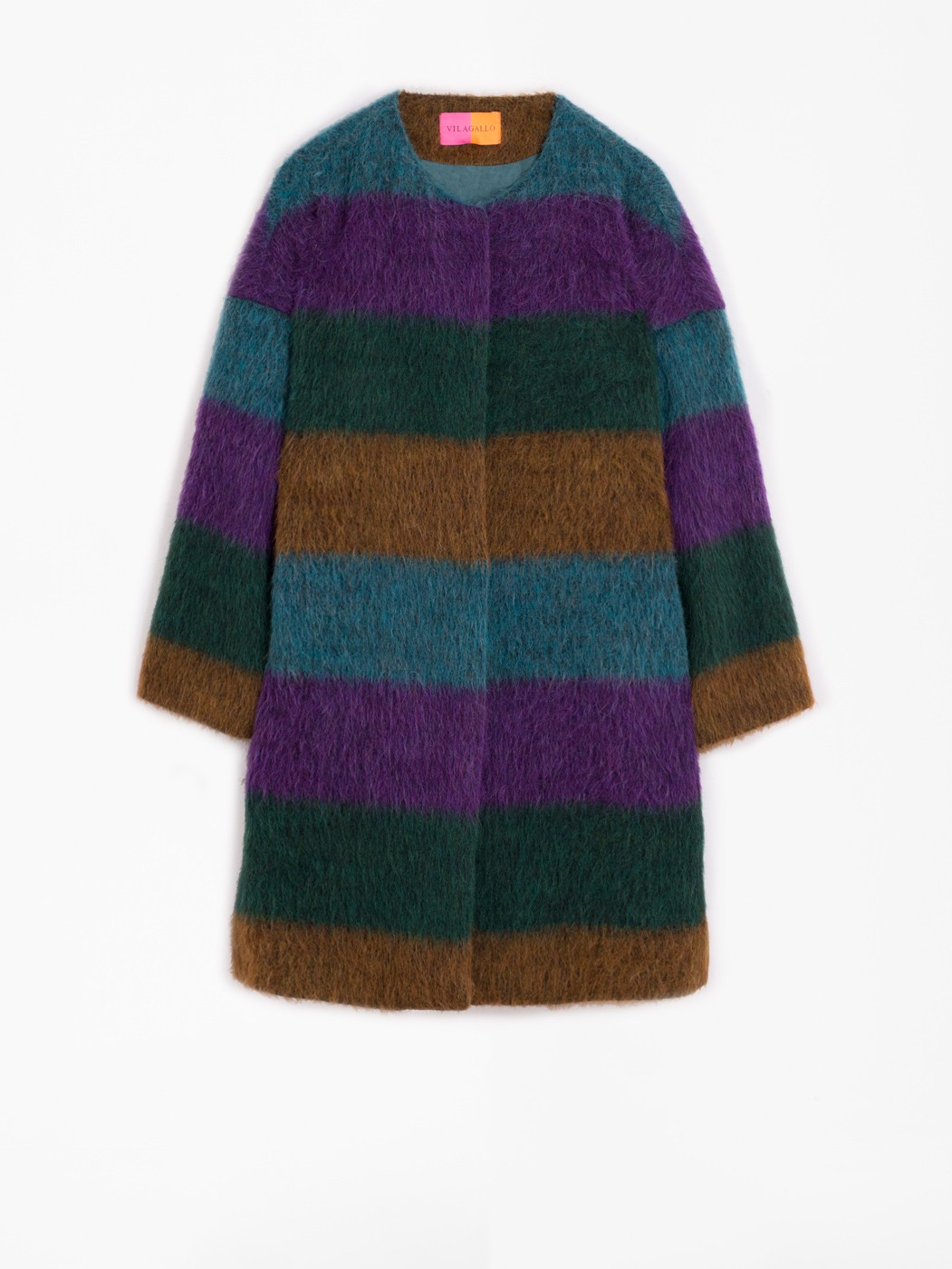 DINA DINDO STRIPE COAT