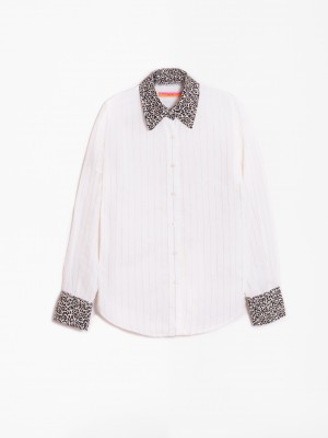 MAFALDA GOLD/SILVER STRIPE SHIRT