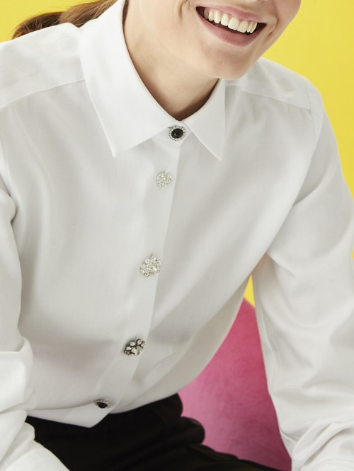 ISABELLA HR WHITE HR SHIRT