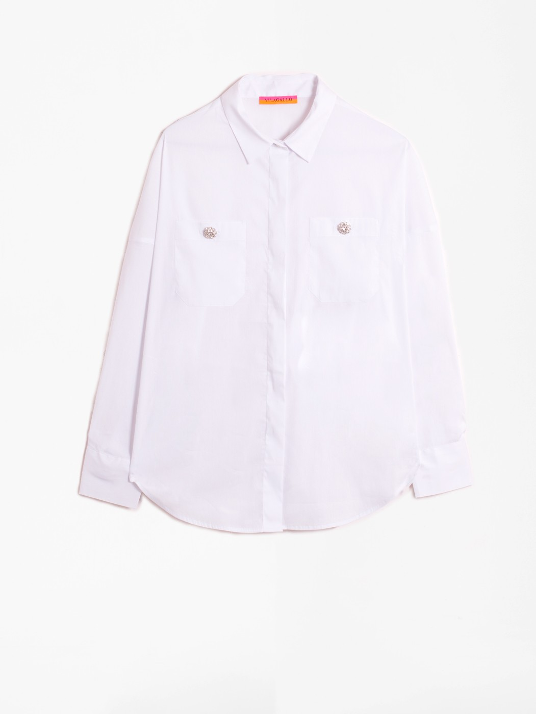 TELMA CONFORT WHITE SHIRT