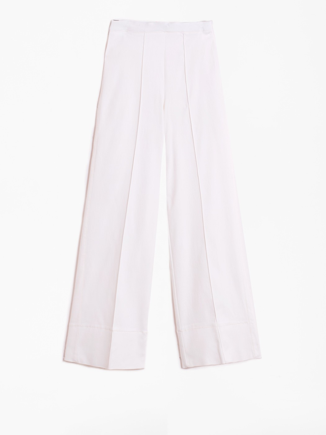 BEATRIZ WHITE STRECH TROUSER