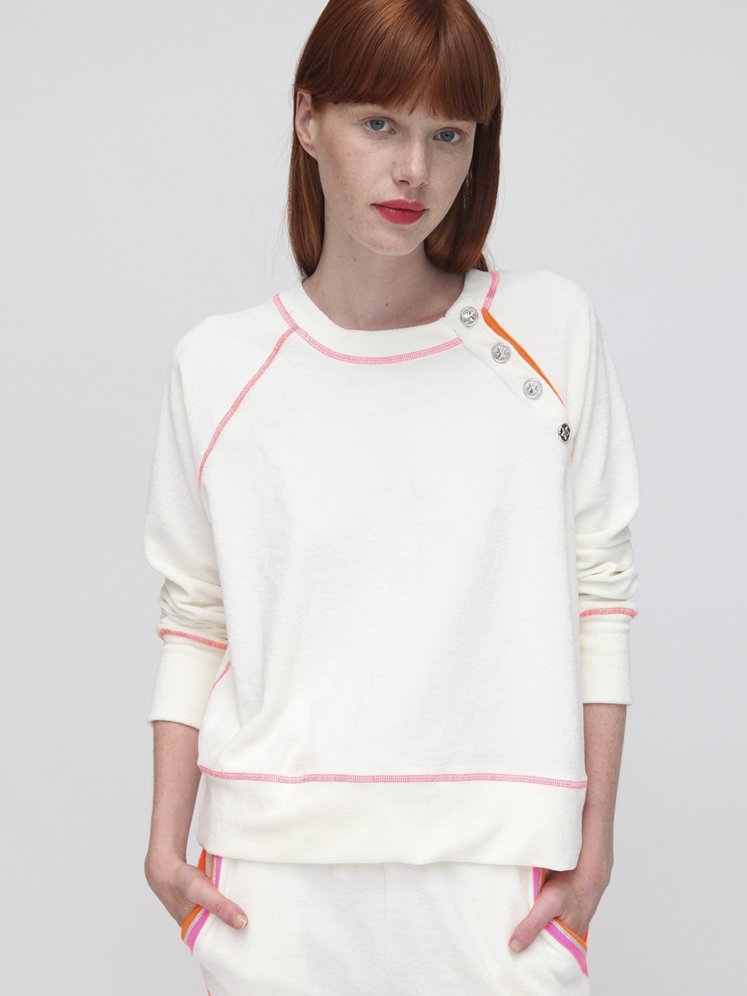 KNITWEAR ADELE WHITE SAINT BARTH