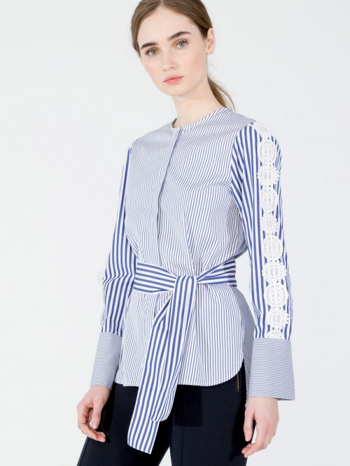 ERICA BLUE STRIPE M