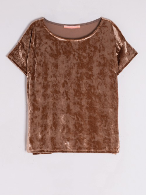 CAMISETA MARGOT CAMEL VELVET I