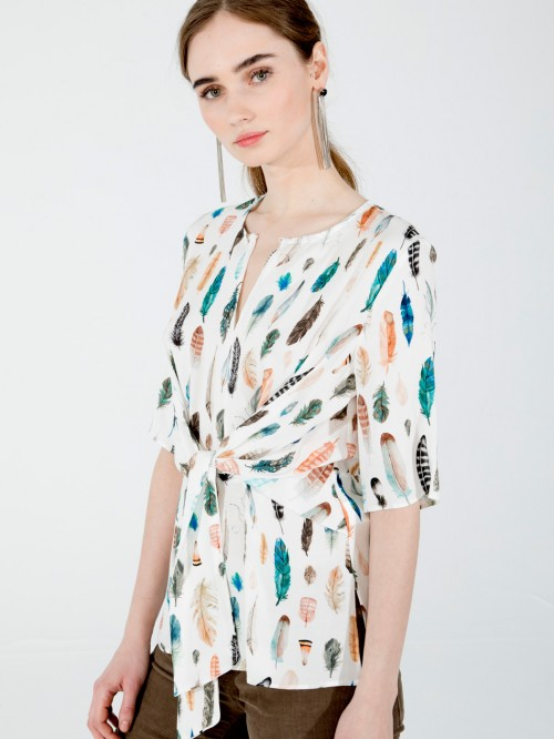 NOELE FEATHER PRINT