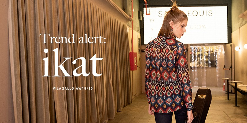 The winter ikat: Please don't stop the music!