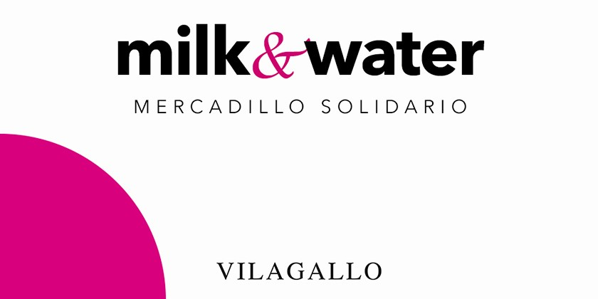 Mercadillo solidario Milk & Water